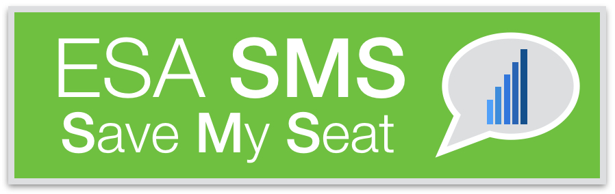 ESA-SMS-Save-My-Seat